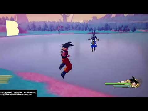 Dragon Ball Z: Kakarot Beerus Level 250 Defeated |