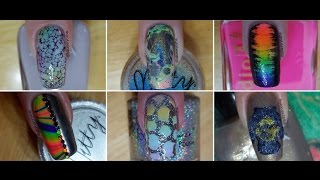 25 Easy Nail Art Designs   Nail Art Compilation #1