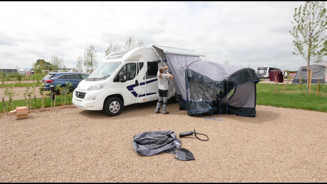 camervan outdoor away movelite awning itm midline air motorhome awnings revolution drive campervan