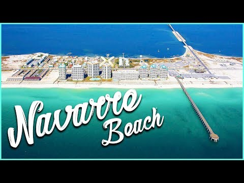 Navarre Beach Florida downtown tour
