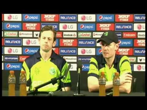 Live Post Match Press Conference - Zimbabwe v Ireland