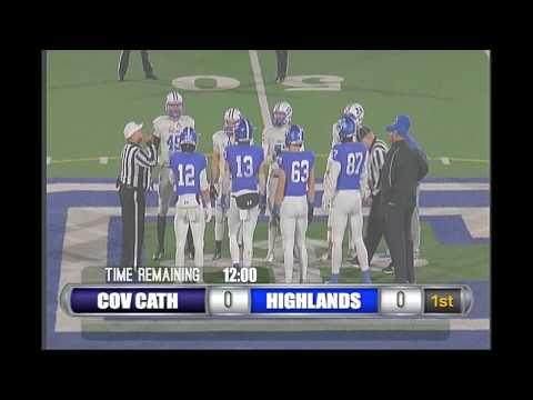 Highlands v. CovCath - Varsity Football Regional Final