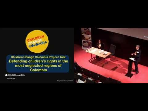Children Change Colombia Project Talk 2018