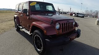 Jeep Wrangler Unlimited Altitude 2012 Videos
