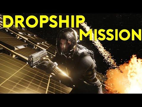 Star Citizen Alpha 2.6.1| DROPSHIP MULTICREW MISSION | Part 366 (Star Citizen 2017 PC Gameplay)
