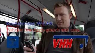 Kostenlos surfen in Hamburg: WLAN im VHH-Bus - Teil I