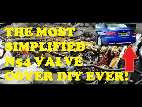 THE EASIEST BMW 335i N54 VALVE COVER GASKET DIY/ tutorial