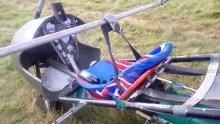 Затримання пілота, який порушив державний кордон на дельтаплані