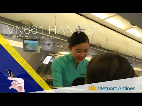 Vietnam Airlines Flight Report: VN661 Hanoi ✈ Singapore