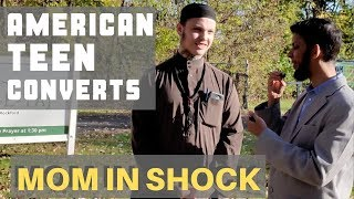 American Teenager converts to Islam – Mom was in shock, Insha Allah she will take her shahada