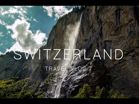AMAZING WATERFALL | LAUTERBRUNNEN| GLETSCHERSCHLUCHT | SWITZERLAND TRAVEL VLOG 7