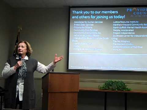 MA State Rep.  Patricia Haddad addresses Providers