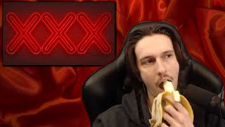 Eating a Banana All Sexy Like