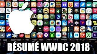 iOS 12, macOS Mojave, watchOS 5 ... RÉSUMÉ Keynote WWDC Apple 2018 !