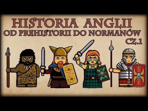 Historia Na Szybko - Historia Anglii od Prehistorii do Normanów cz.1