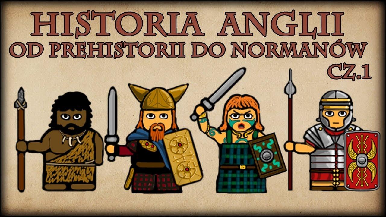 Historia Na Szybko - Historia Anglii od Prehistorii do Normanów cz.1 - YouTube