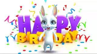 Шуточное поздравление с днем рождения подруге. Видео открытки.