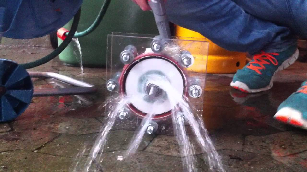 how to build a water turbine for science project