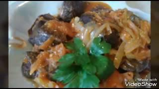 #Что приготовить на обед, ужин из говяжьего Лёгкого/Вкусное,Экономное блюдо