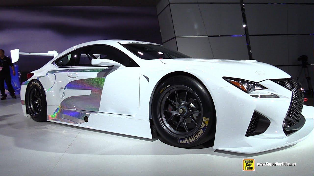 2015 Lexus RC F GT3 - Exterior Walkaround - 2015 Detroit Auto Show ...