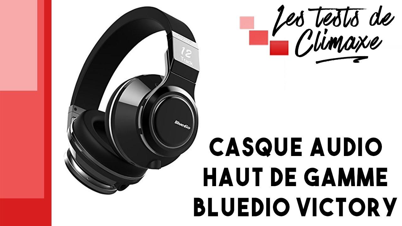 Test Dun Casque Audio Bluedio Victory Pro Pps12 Victoire Série V