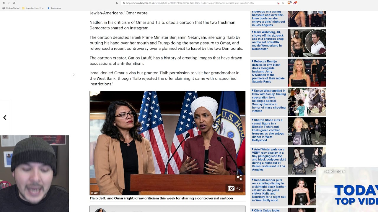 Imagine My Shock, Democrat Accuses Ilhan Omar And Rashida Tlaib Of Being Antisemites