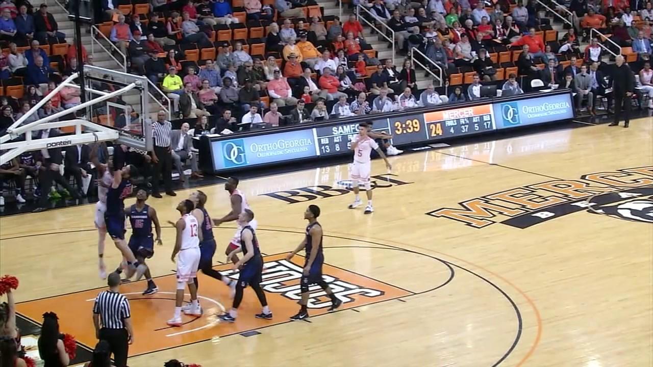 Men's Basketball vs Samford Post Game Recap - February 27 ...