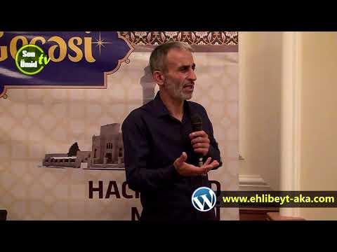 Quran gecesi Haci Cavad mescidi Xanim Məsumənin (ə) movludu