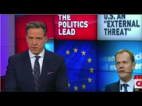 EU Chief Donald Tusk :US exposes External Threat Via Trump #eu #brussels #europe @eucopresident