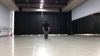 한예종 창작과 실기시험 부채춤 창작