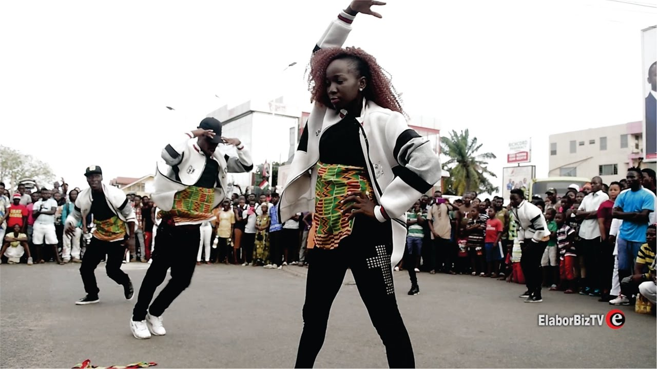 Ghana vs Naija Street Dance Battle - A must watch