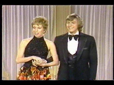 Richard Carpenter with Carol Burnett