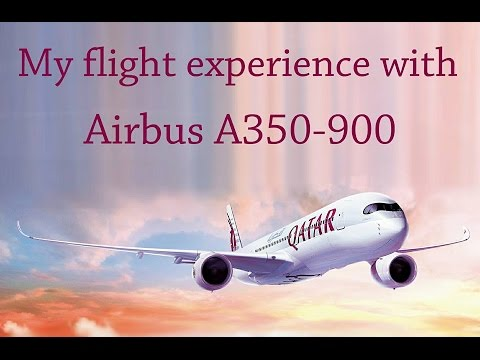 My flight experience with Airbus A350 from Doha to Frankfurt by Qatar Airways.