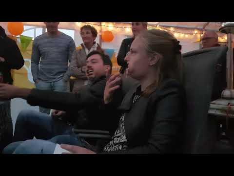 de rijdende rechter Maarten en Rianne