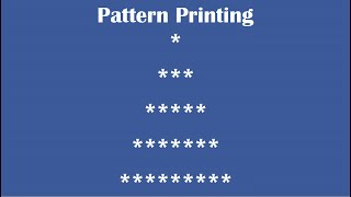 C Practical and Assignment Programs-Pattern Printing 8 thumbnail