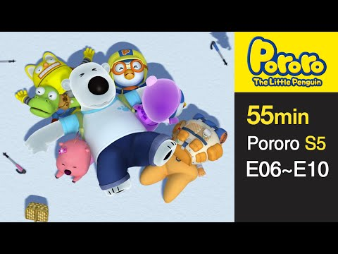[Pororo S5] Season 5 Full Episodes E6-E10 (2/5)