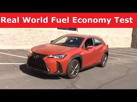 2019 Lexus UX250h Hybrid Review: Fuel Economy Test