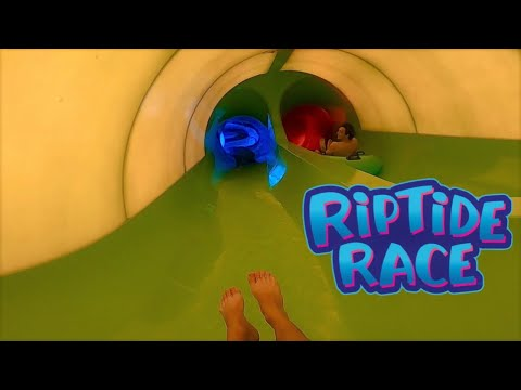 Riptide Race! Now Open at Aquatica! POV Video
