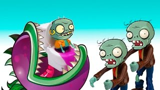 Plants vs ZOmbies 2 Zombies Backyard funny battle Plantas contra Zombies 2 PVZ GW2 Toys PlayClay Toy