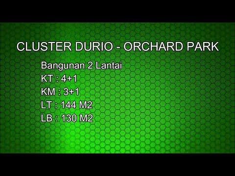 MasterPro : Dijual Rumah Agung Podomoro Land Cluster Durio Size Besar - Lokasi Batam Centre
