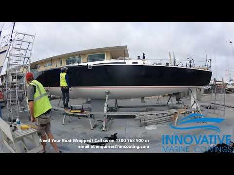 J121 VinylWrap Sandringham Yacht Club