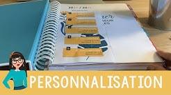 Tuto personnalisation mon planner