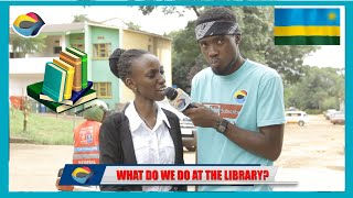 What is a LIBRARY? | Street Quiz 🇷🇼 | Funny Videos | Funny African Videos | African Comedy |