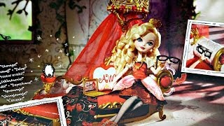 Getting Fairest Apple White Fainting Couch / Łóżko z Baldachimem Apple White - Ever After High
