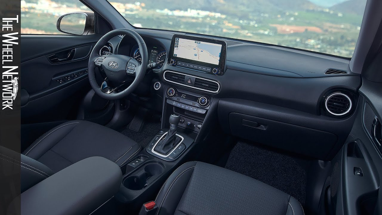 2020 Hyundai Kona Hybrid Interior Youtube