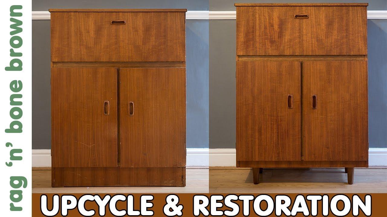 Drinks Cabinet Makeover Mid Century Restoration