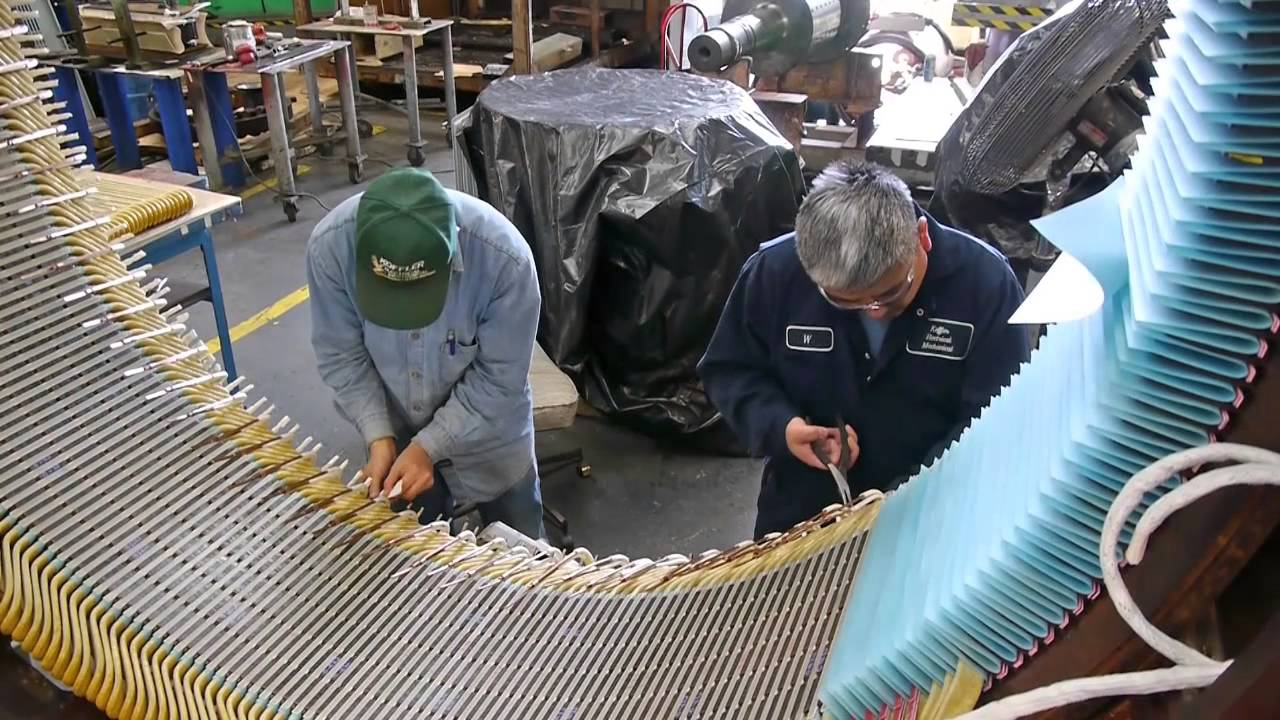 Rewinding a Large Motor at KOFFLER YouTube