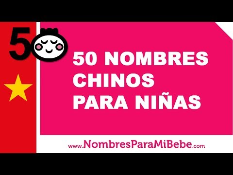 Nombres Femeninos De Origen Chino El Listado Completo 2019