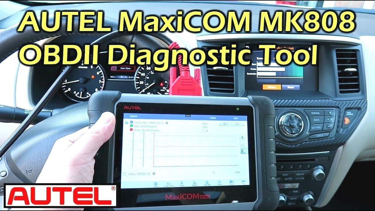 AUTEL MaxiCOM MK808 OBD2 Professional Scan Tool