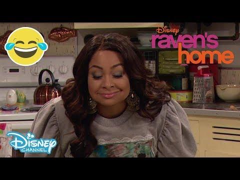 Raven's Home | Sneak Peek: Embarrassing Mum Dancing 💃 | Official Disney Channel UK